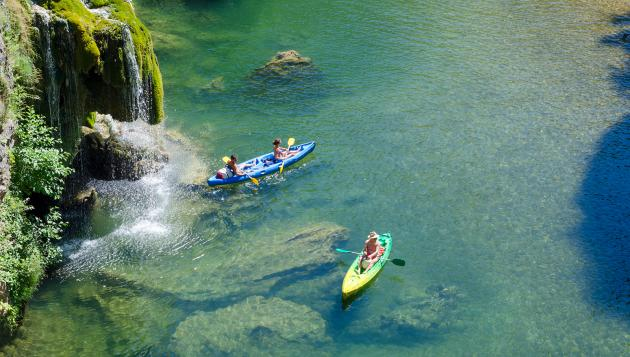 Canoe Kayak dans les Gorges du Tarn