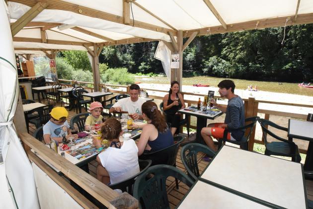 Restaurant du camping la Blaquiere