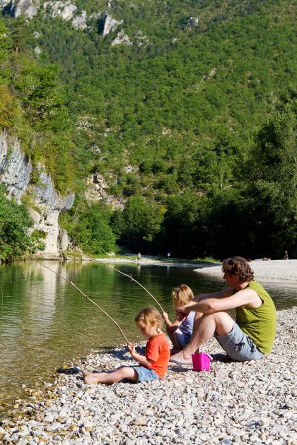 Vacances en famille au bord du Tarn