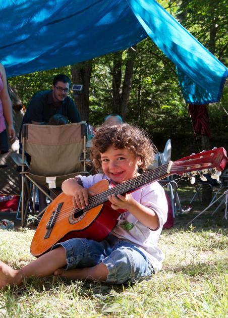 Vacances familiale en camping