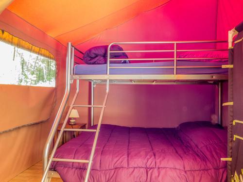 chambre enfants lodge victoria camping la blaquiere gorges du tarn