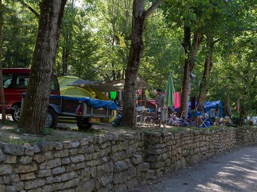 emplacement standard camping la blaquiere gorges du tarn