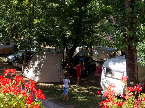 emplacement standard camping la blaquiere gorges tarn